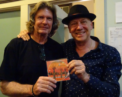 Russell Morris and Peter 13-10-15